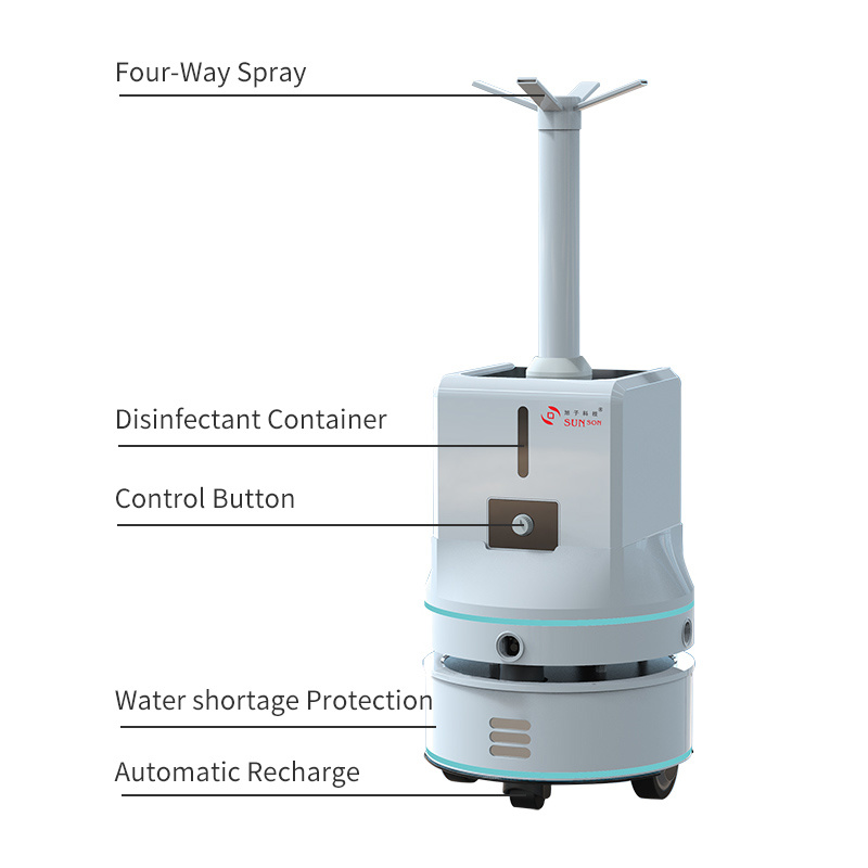 Automatic Mist Sprayer Germ-Killing Anti-Virus Machine
