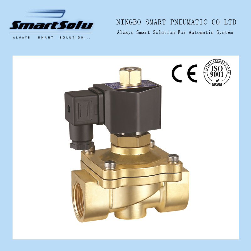 2W Series Thread Zero Pressure Difference Normally Open Solenoid Valve pictures & photos