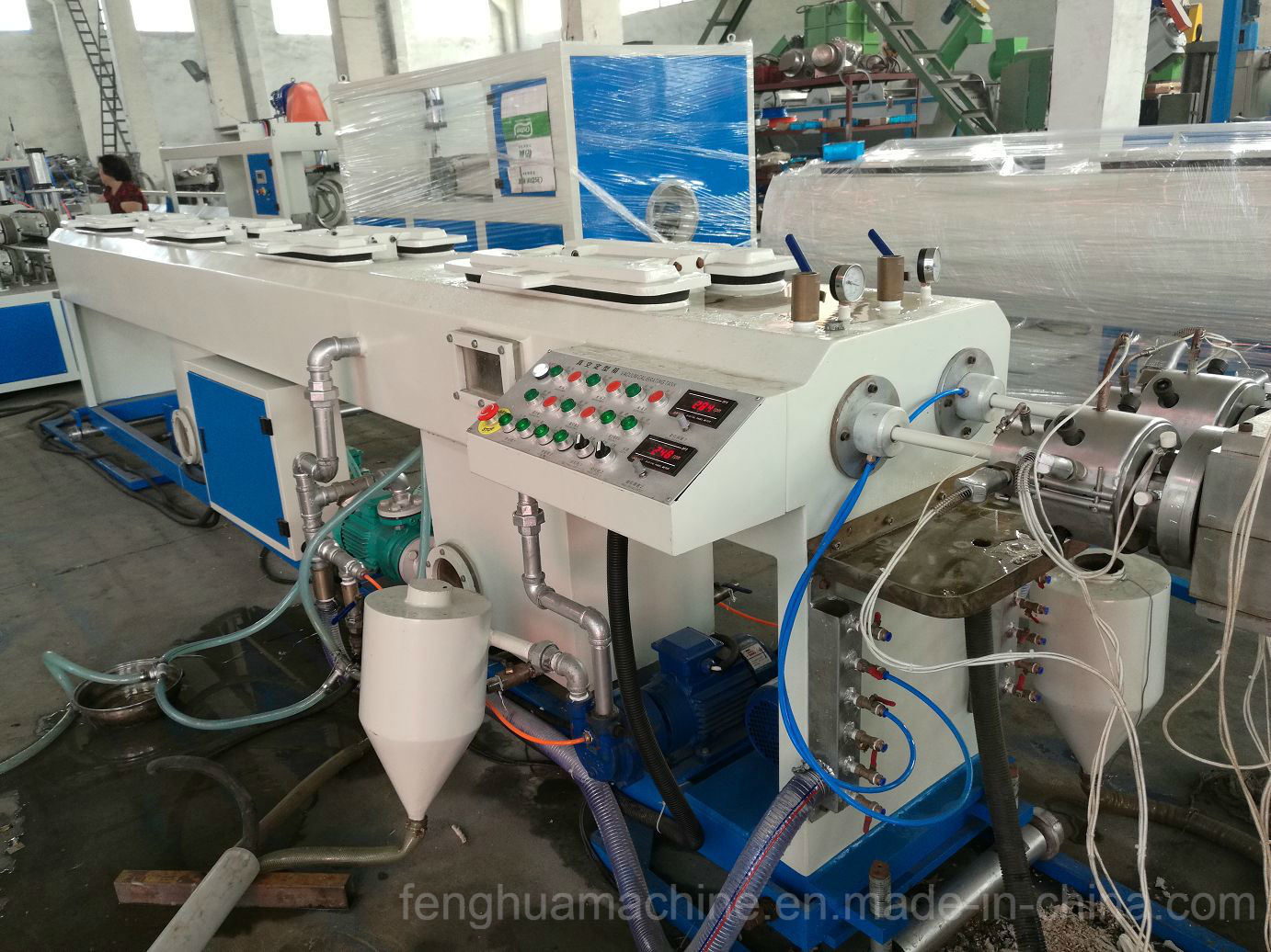 High Efficiency and Advanced PVC Plastic Tube Making Machinery