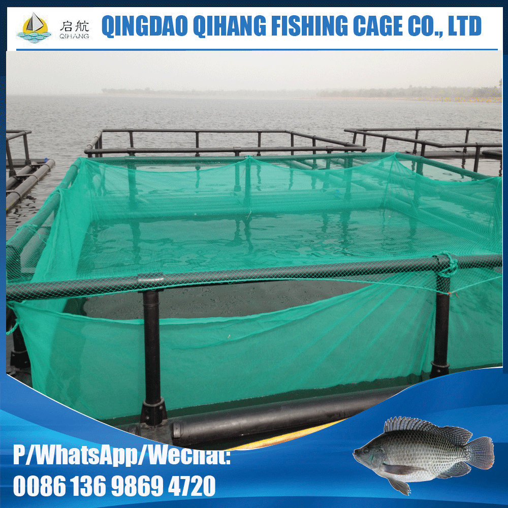 China Round Fish Farming Cage Floating Fish Cage for