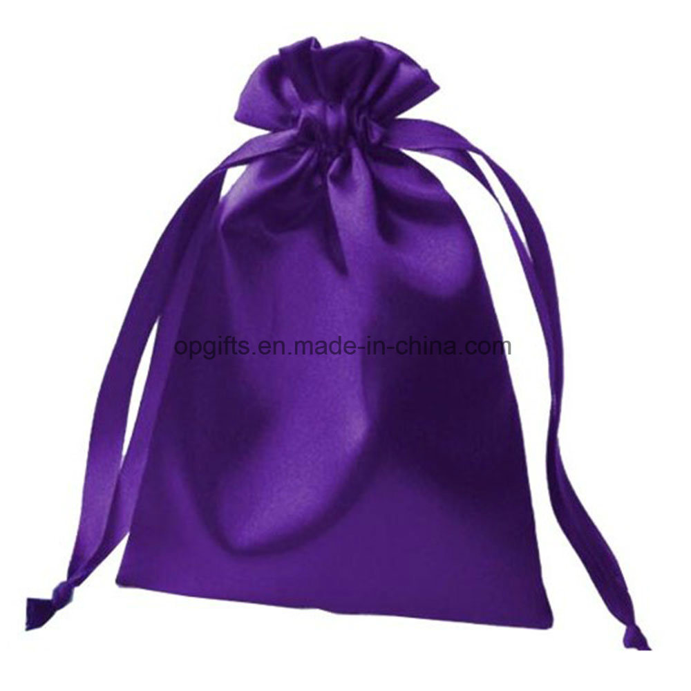 Hot Sale Promotional Drawstring Nylon Satin Non-Woven Organza Bag pictures & photos