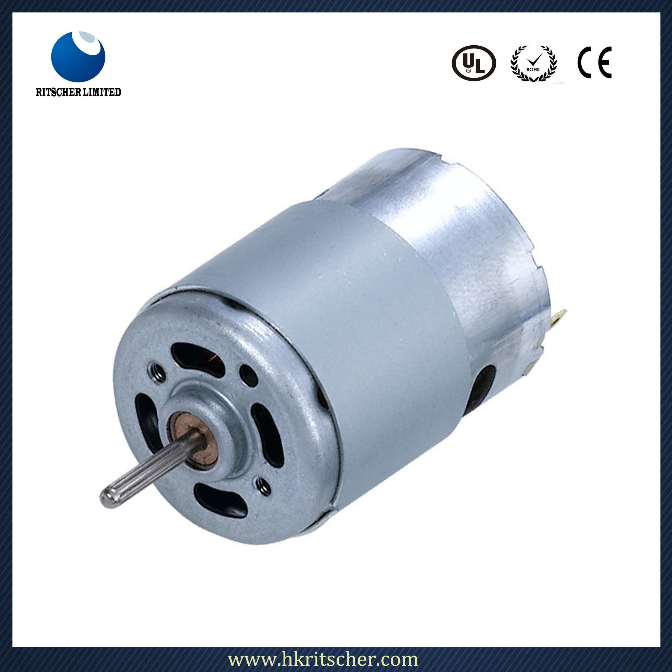 China 12 24v Dc Mini Electric Pmdc Vibration Motor For New Energy Auto With Vde Certification Fitness Aratus Brush