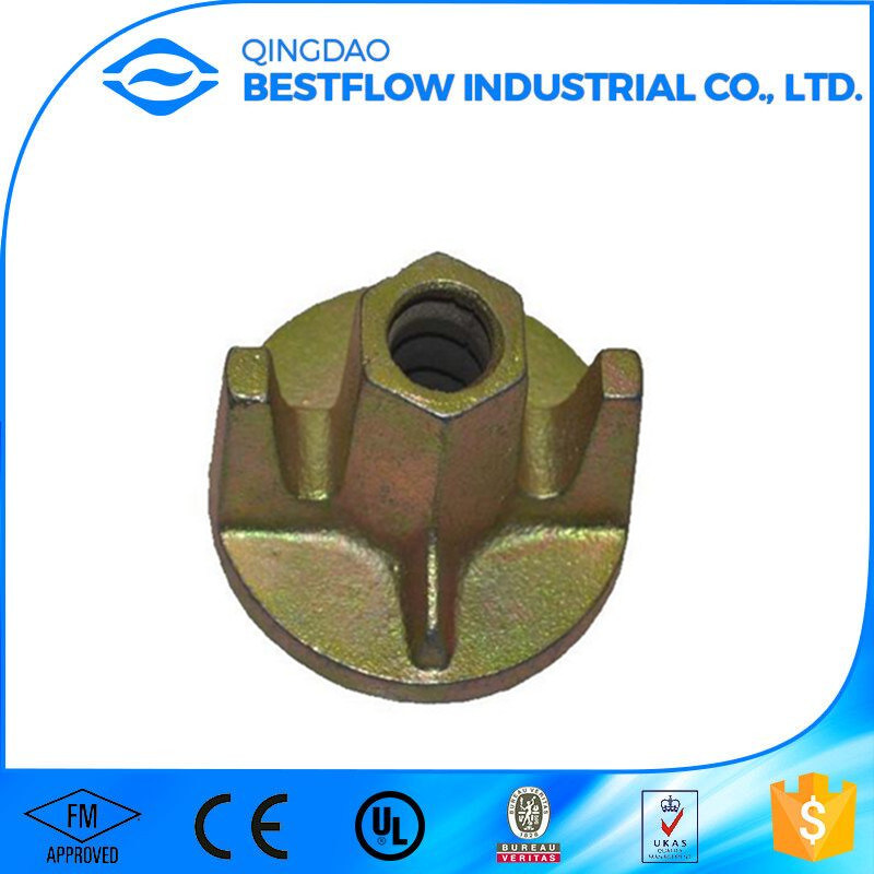 Formwork Wing Tie Rod Nuts Construction Use / Tie Nut