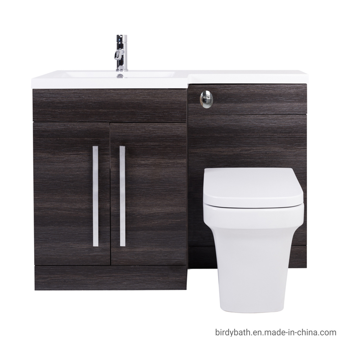 Pleasing Hot Item Bathroom Lh Rh Combination Toilet Vanity Unit Basin Grey Evergreenethics Interior Chair Design Evergreenethicsorg
