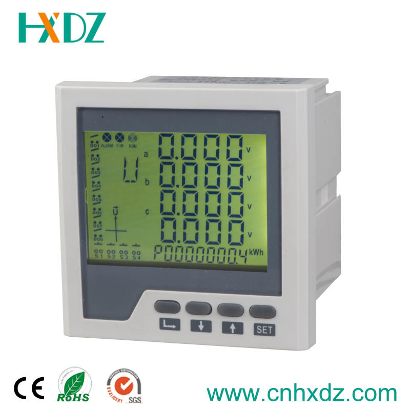 LCD Multi-Functional Digital Panel Meter 3 Phase