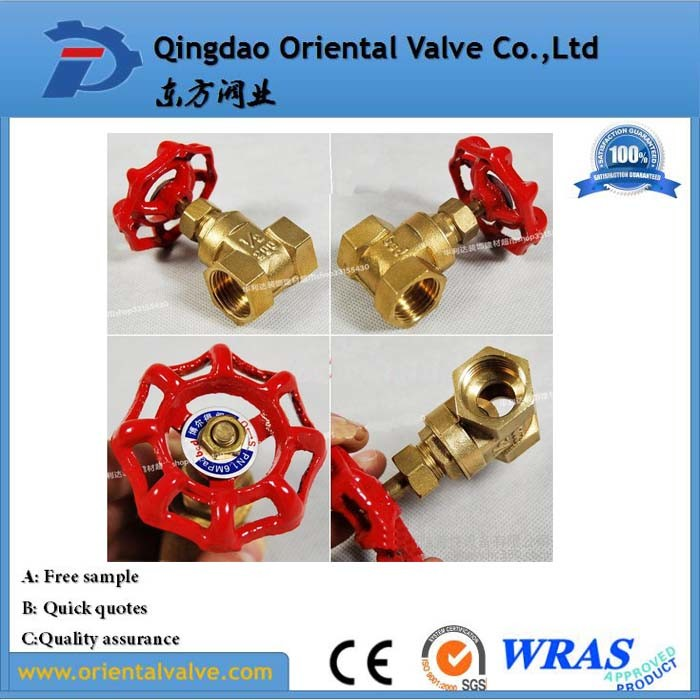 OEM Top Level Hot-Sale 200 Wog Brass Manual Gate Valve pictures & photos