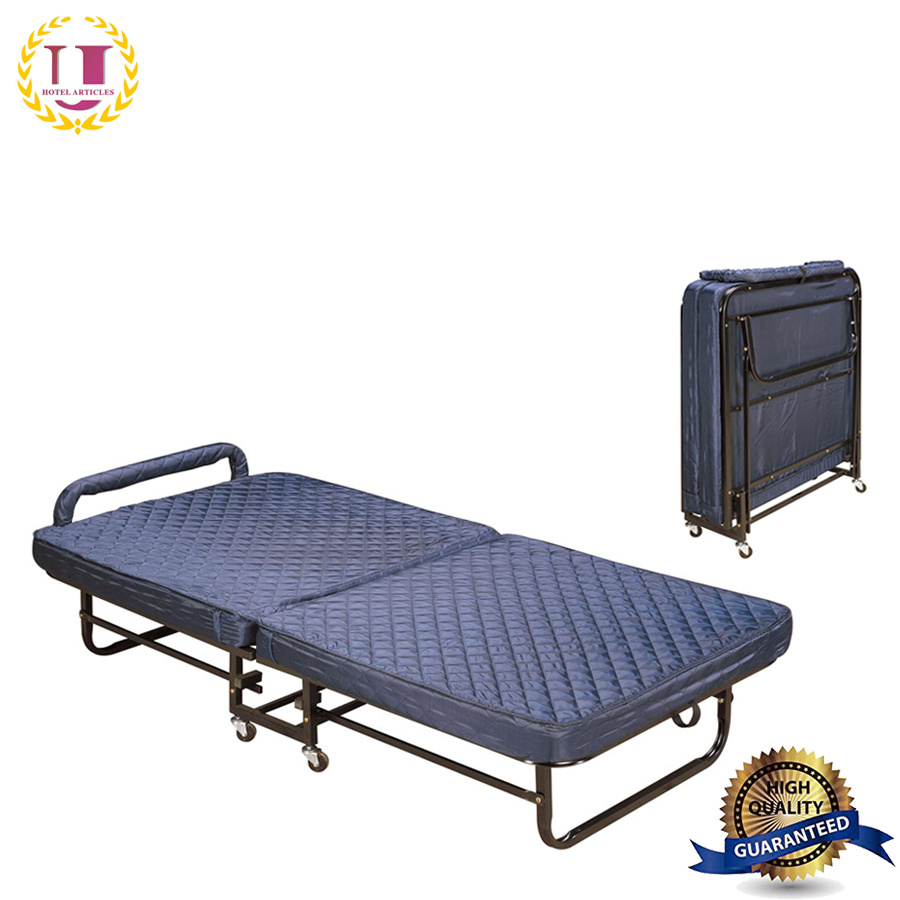 - China Modern Furniture Portable Single Foldable Bed With Mattress