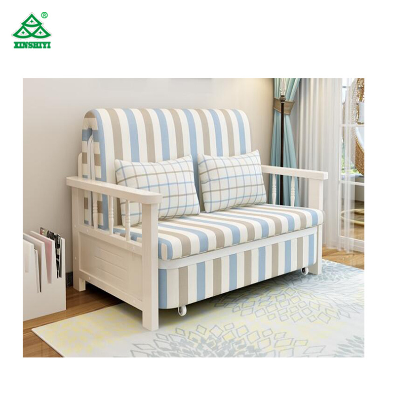 China 5 Star Hotel Wooden Sofa Bed Popular Selling Made In China