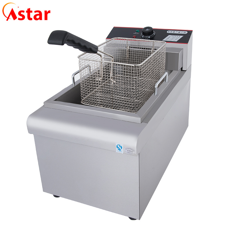 [Hot Item] Commercial Kitchen Equipment Open Fryers/Chinese Potatochips  Deep Fried Machine Factory Manufacturer