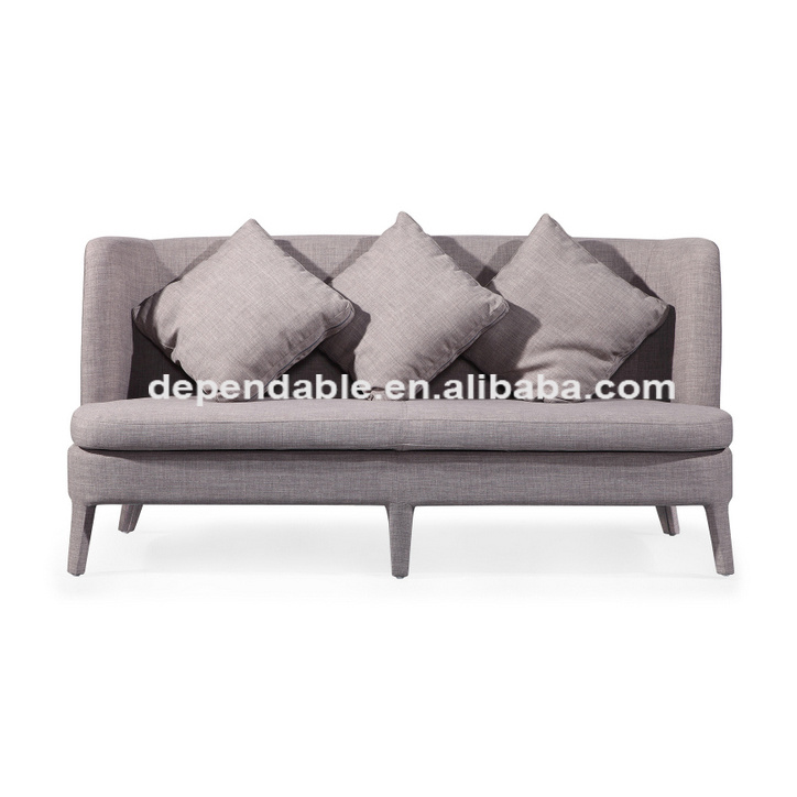 Hot Item Popular Clean Design Young Style Home Furniture Soft Linen Sofa Chair Modern Bedroom Sofa Set