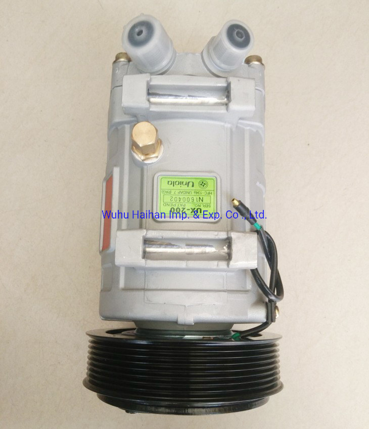 China Supplier Auto Air Conditioning Compressor Unicla Ux200 pictures & photos