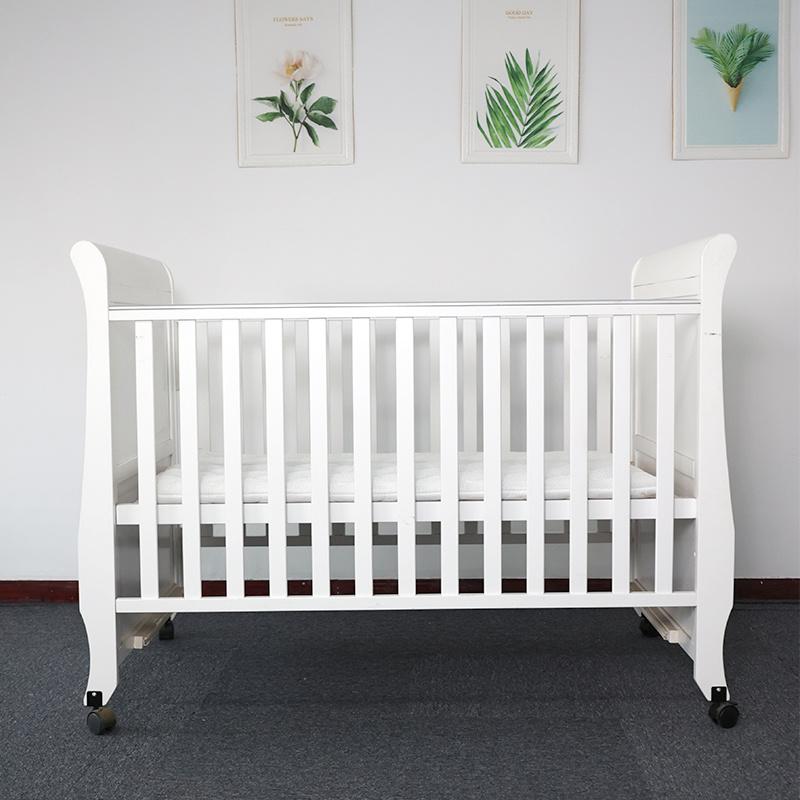 China Baby Crib Bed Cradle, Luxury Baby Furniture