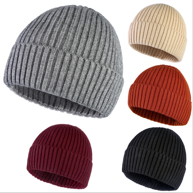 China Cheap Custom Beanie Hat for Men and Women Winter Warm Acrylic Hat  Knitted Promotion Hat Cap - China Winter Hat and Beanie Hat price