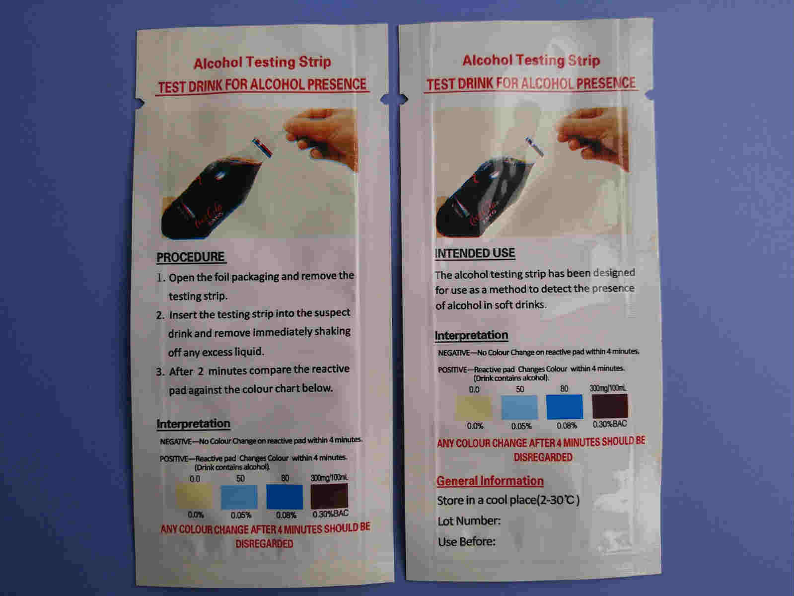 [Hot Item] Realhealth Rapid Alcohol Test Strips Series