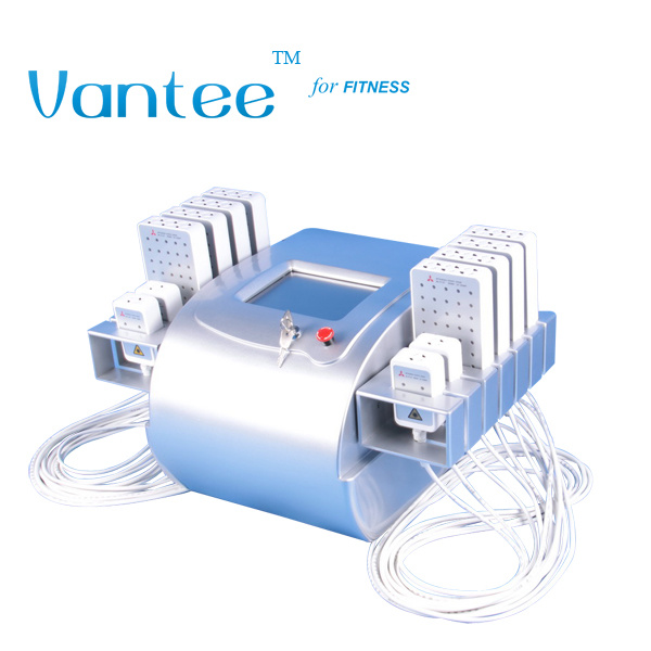 12 Pads Dual Wavelength Lipo Laser Device for Body Slimming