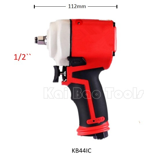 1/2`` Pneumatic Mini Impact Wrench with Single Loop