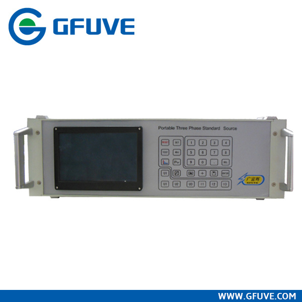 Power Plant Portable Three Phase Standard Source with 120A Current Souce and 500V Voltage Source