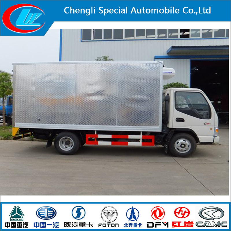New Condition Mini JAC Mobile Kitchen Truck 3 Ton JAC Mini Refrigerated Van Truck Mini Frozen Truck Sale pictures & photos