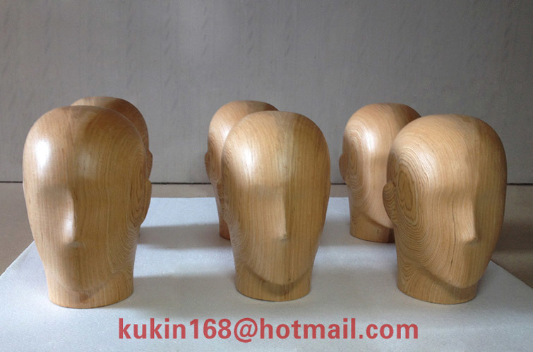 China Mannequin Head, Wooden Handicraft, Display Props, Abstract ...