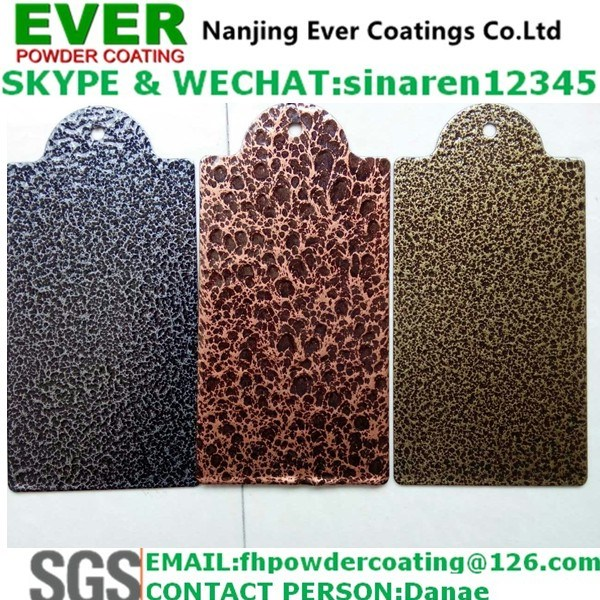 Antique Copper Vein Hammer Tone Powder Coating pictures & photos