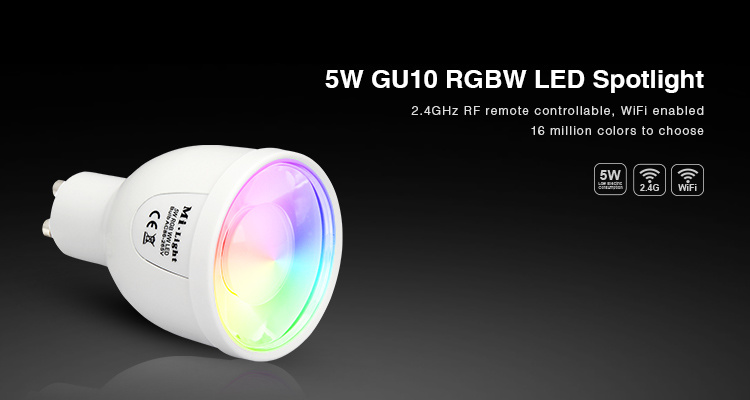 5W GU10 RGBW LED Spotlight pictures & photos