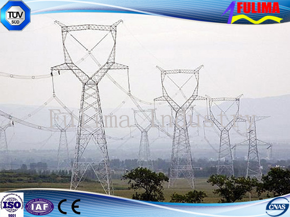 Transmission Line Angle Steel Tower for Electric Power Transmission (AST-001)