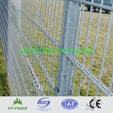 Double Wire Welded Steel Fence