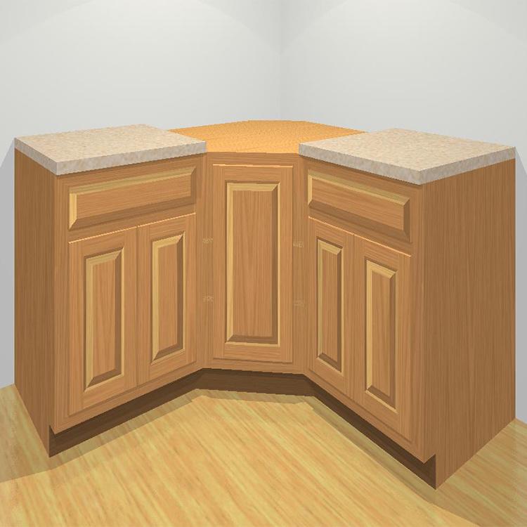 China Small Corner Kitchen Cabinets, What Size Are Corner Kitchen Cabinets