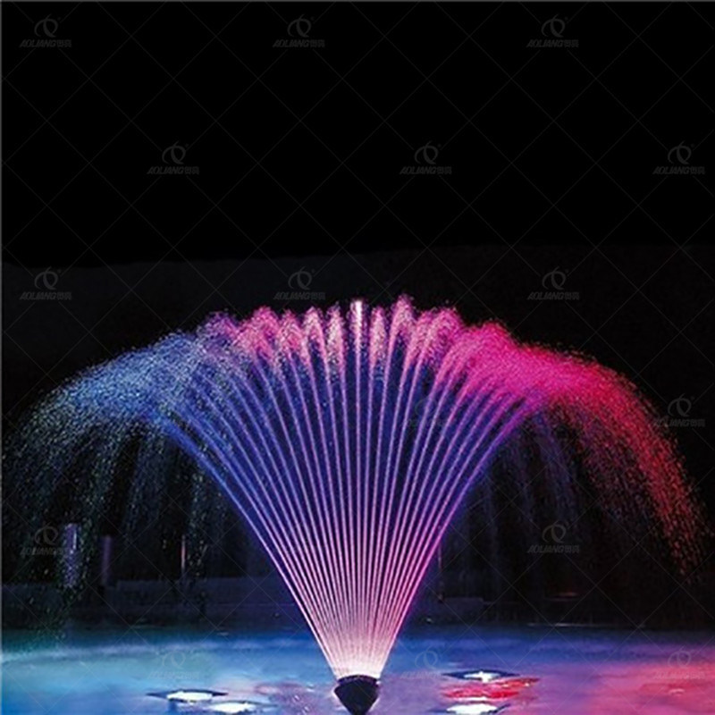 China Fan Shaped Garden Fountain Peacock Tail Dancing Water Fountain China Finger Jet Fountain And Water Feature Price