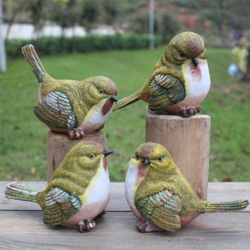 China Garden Decor Home Art, Outdoor Bird Statues