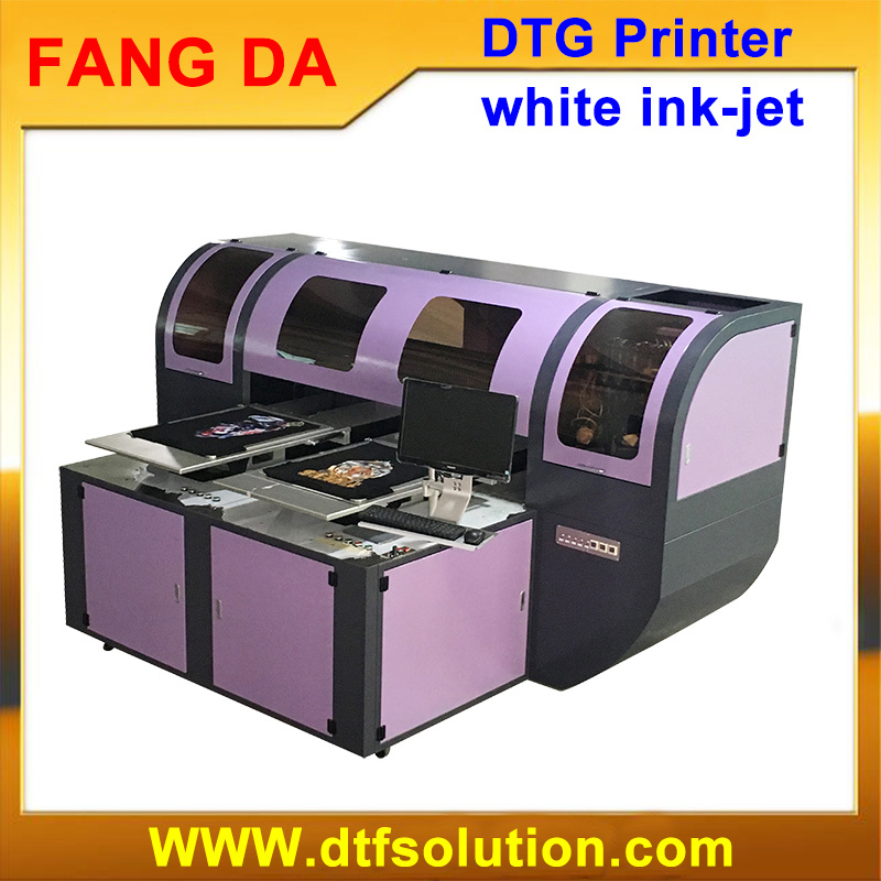 [Hot Item] DTG White Ink Digital Printer for Ready Made Garment