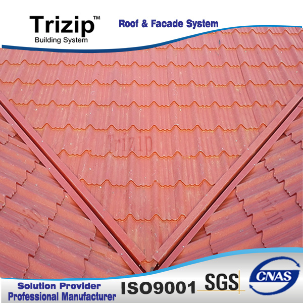 Color Coated Corrugated Steel Roofing Tile