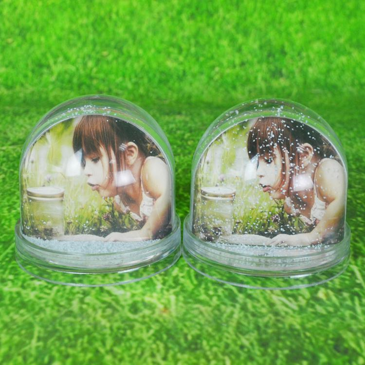 Promotion Gift Snowglobe Picture Frame Liquid Photo Frame