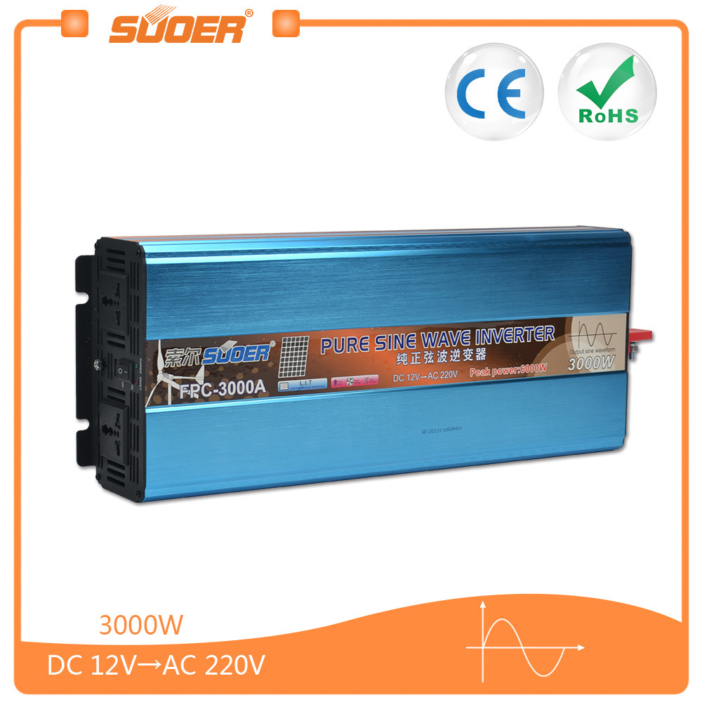 China Suoer Dc 12v To Ac 220v 3000w Pure Sine Wave Inverter Fpc Circuits Further Circuit 3000a Power