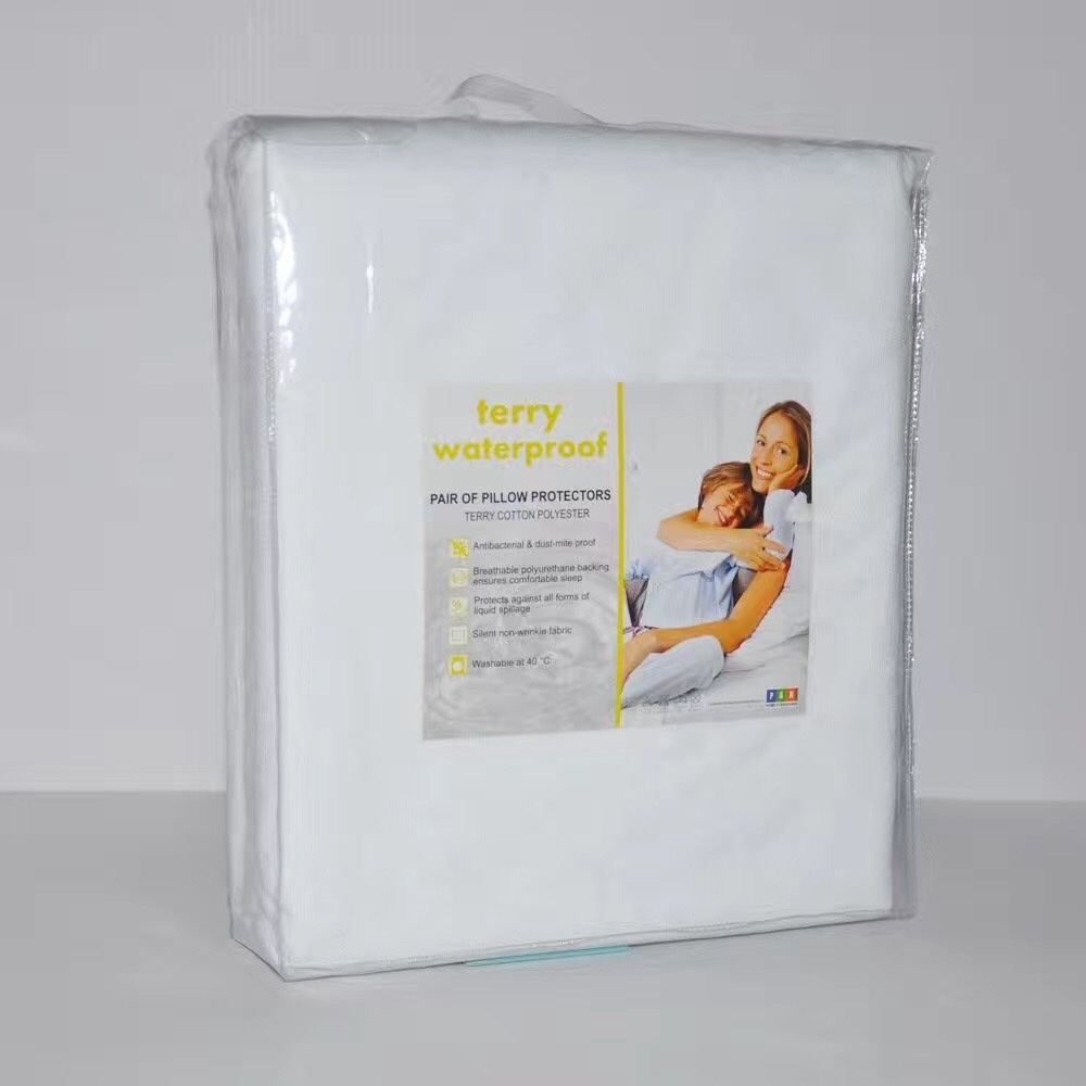 Mattress Cover Protector Cotton Waterproof Bed Bug Allergens Breathable Hypoalle
