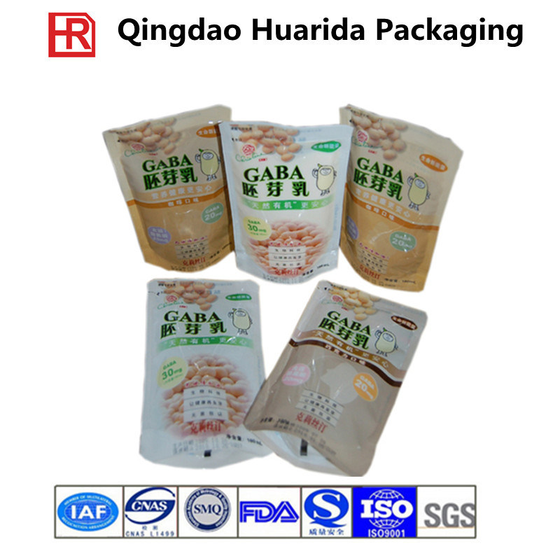 Stand up Nuts Food Zipper Packaging Bags pictures & photos