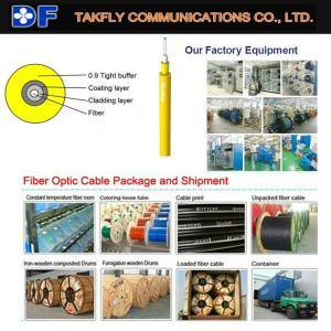 Indoor Fiber Optic Cable 0.9mm Tight Buffer Cable (GJFJV) pictures & photos