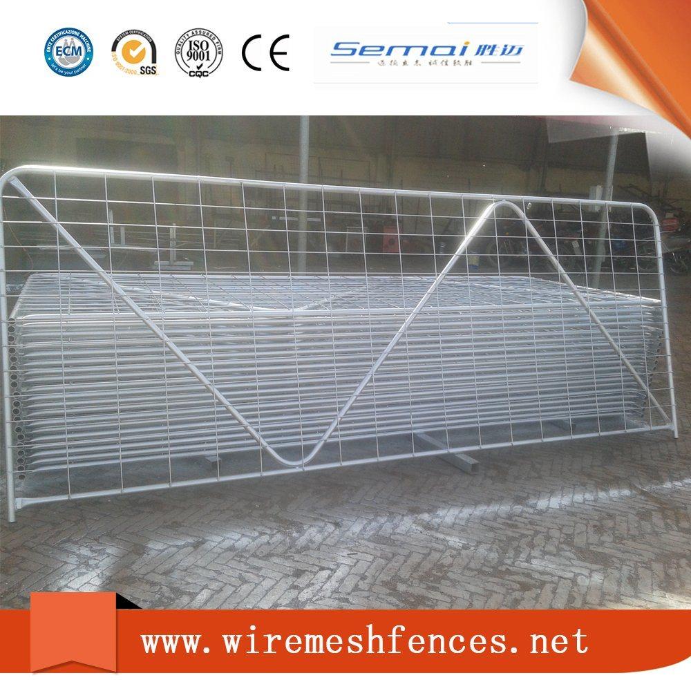 China Welded Mesh Type Farm Gate / Pasture Gate / Ranch Gate - China ...