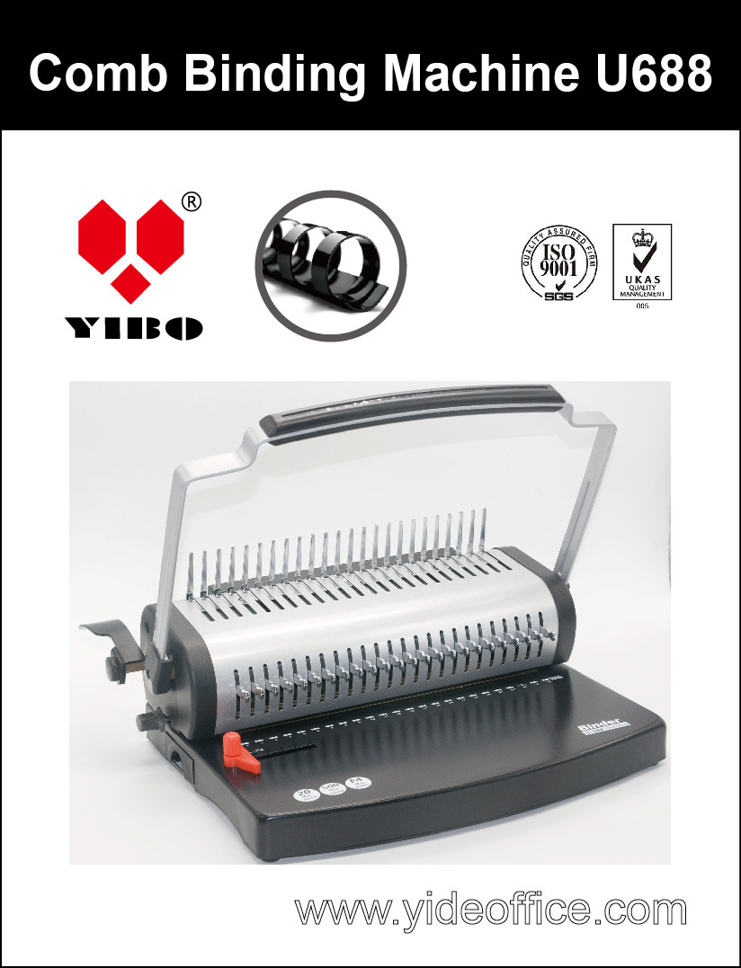 U Handle F4 Size Comb Binding Machine U688