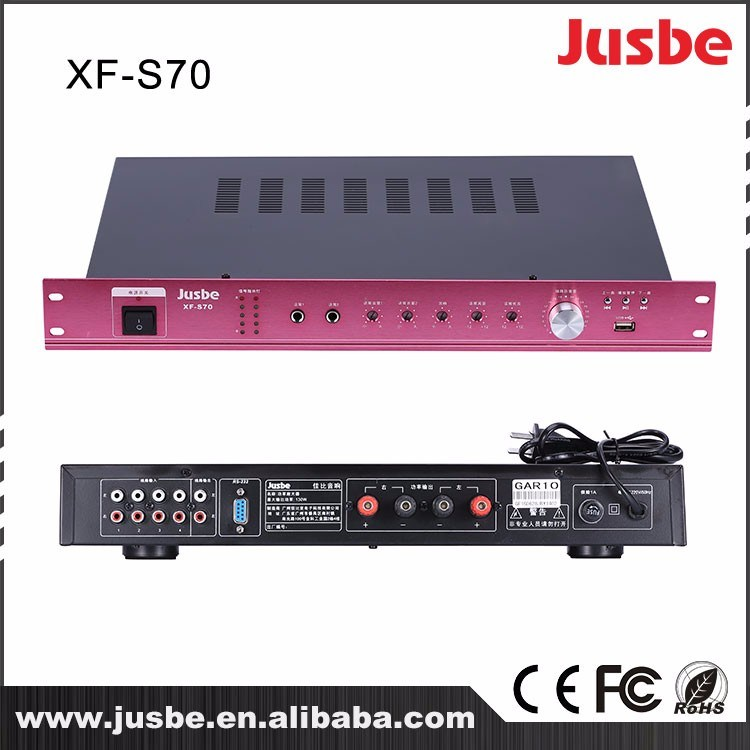 Xf-S70 65W*2 Professional Integrated Audio Amplifier/ Power Amplifier