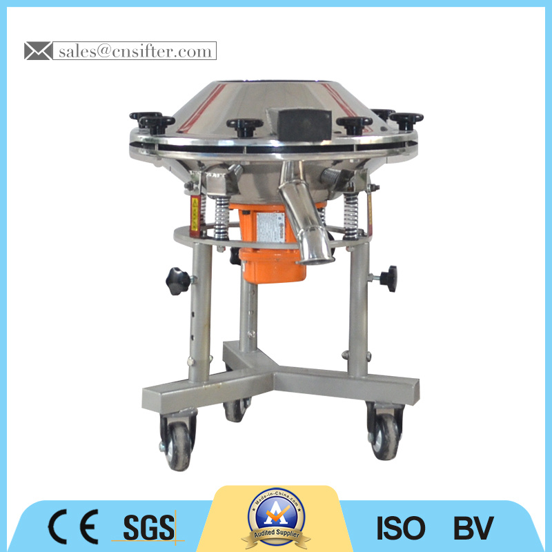High Frequency Glaze Vibrating Screen with 2 Stage Motor