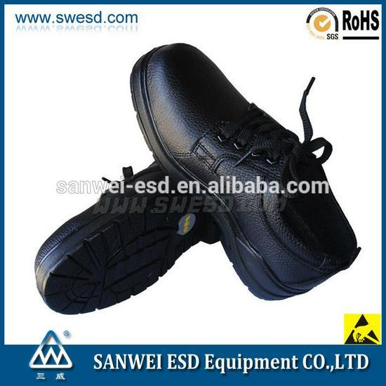 Antistatic Safety Shoes with Steel Toe Cap