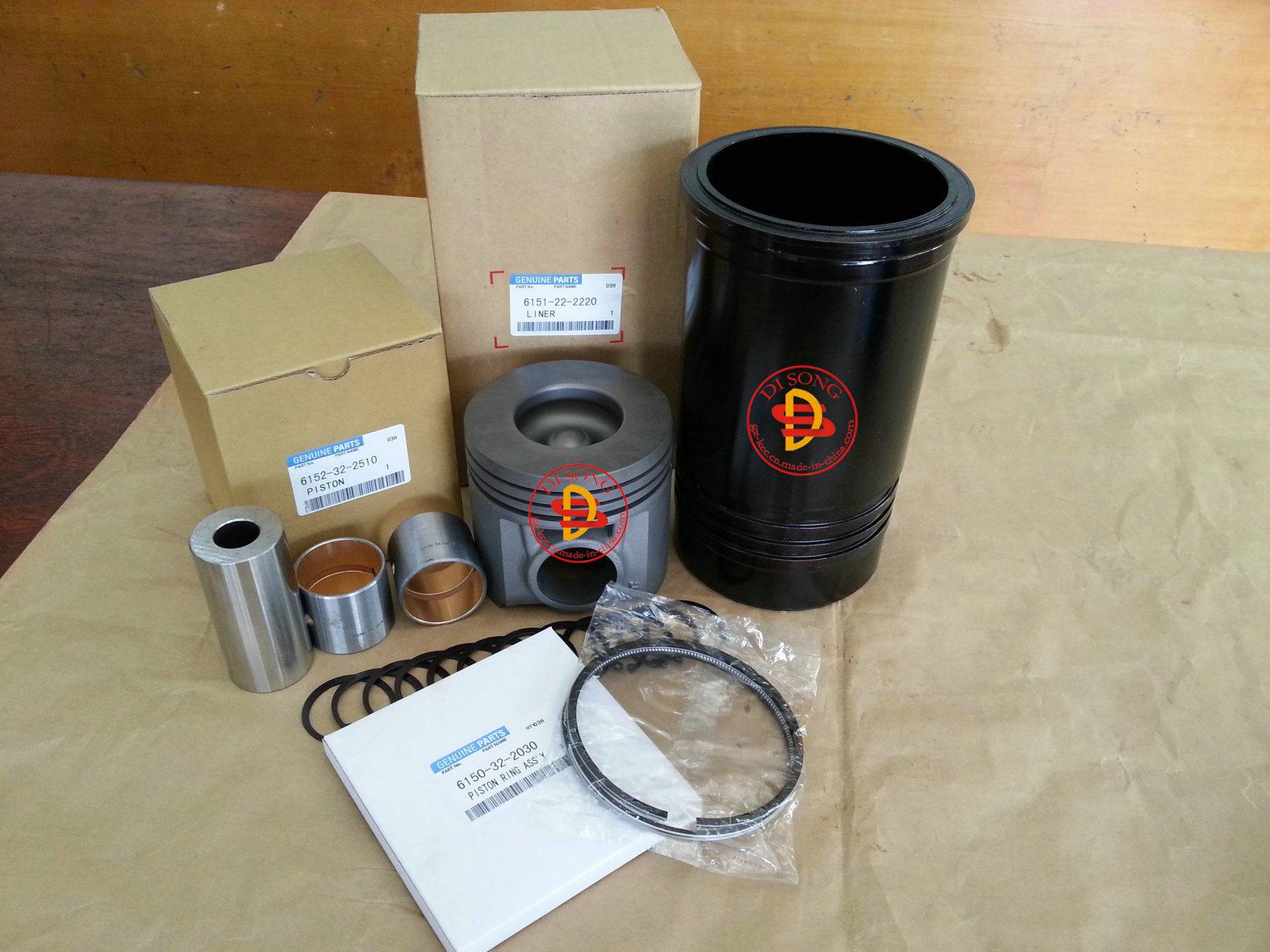 [Hot Item] Komatsu Spare Parts, Liner, Ring, Liner Kit  Piston  (6152-32-2510))