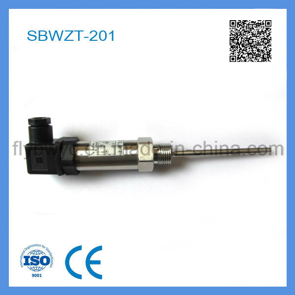 4-20 Ma Output PT 100 Temperature Transmitter with Hirschmann Plug (SBWZT-201)