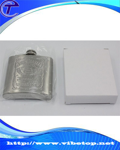 Stainless Steel Belt Buckle Hip Flask Vf-123 pictures & photos