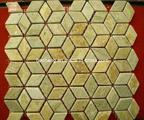 Natural Stone Meshwork Mosaic Slate for Walling/Flooring/Decoration pictures & photos
