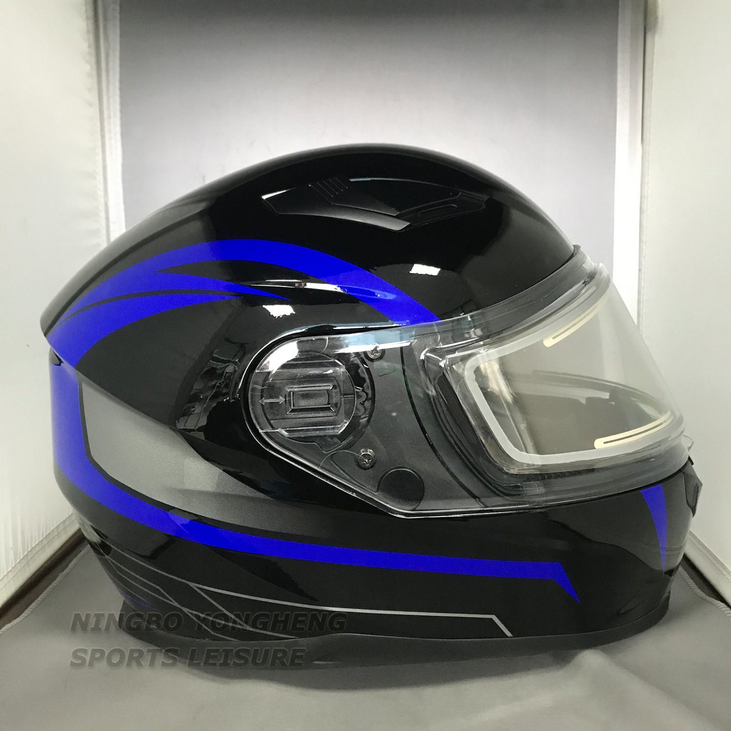 [Hot Item] Motorcycle Motorbike Snowmobile Helmets with Double Lens  Anti-Snow Visor