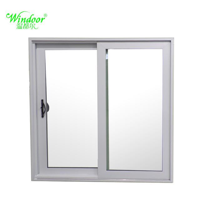China Grills Design White Frame UPVC Sliding Window, Wood Grain ...