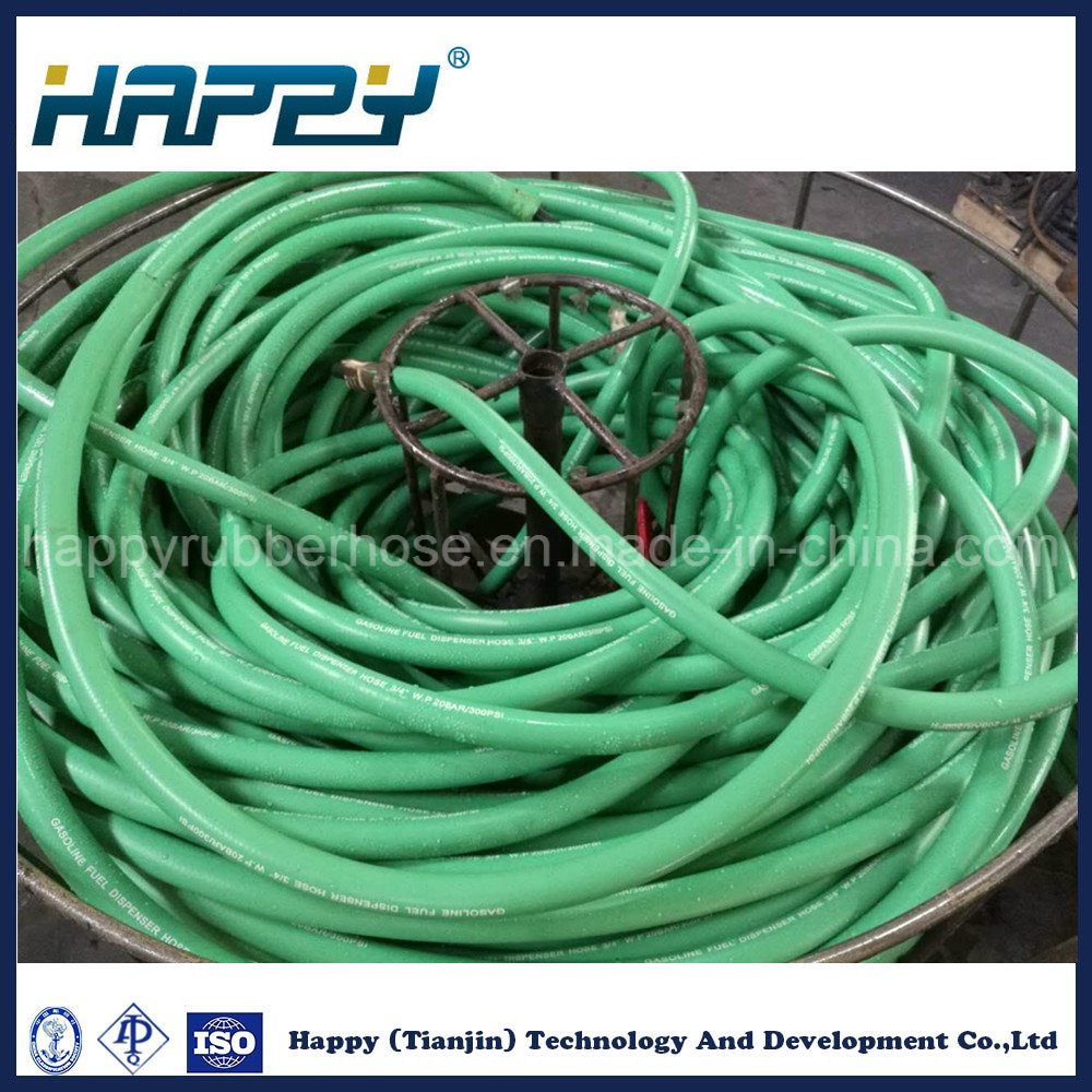 High Pressure Smooth Cover Hydraulic Rubber Hose Oil Hose pictures & photos