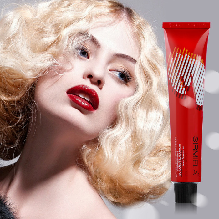 China Factory Price Blonde Red Copper Hair Color Hair Dye Brands